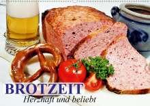 Elisabeth Stanzer: Brotzeit. Herzhaft und beliebt (Wandkalender 2021 DIN A2 quer), Kalender