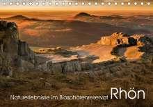 Manfred Hempe: Naturerlebnis im Biosphärenreservat Rhön (Tischkalender 2021 DIN A5 quer), Kalender