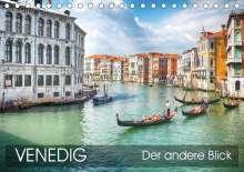 Thomas Münter: Venedig - Der andere Blick (Tischkalender 2021 DIN A5 quer), Kalender
