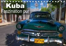Thomas Münter: Kuba - Faszination pur (Tischkalender 2021 DIN A5 quer), Kalender