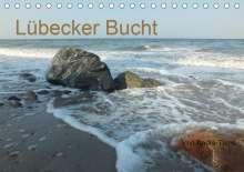 André Tams: Lübecker Bucht (Tischkalender 2021 DIN A5 quer), Kalender