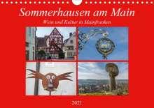 Hans Will: Sommerhausen am Main (Wandkalender 2021 DIN A4 quer), Kalender