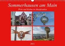 Hans Will: Sommerhausen am Main (Wandkalender 2021 DIN A3 quer), Kalender