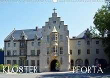 Wolfgang Gerstner: KLOSTER PFORTA (Wandkalender 2021 DIN A3 quer), Kalender