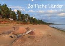 Bernhard Kils: Baltische Länder (Wandkalender 2021 DIN A2 quer), Kalender