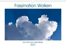 Kathrin Eimler: Faszination Wolken (Wandkalender 2021 DIN A4 quer), Kalender