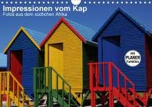 Andreas Werner: Impressionen vom Kap (Wandkalender 2021 DIN A4 quer), Kalender