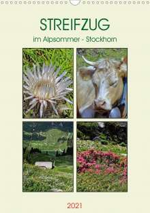Susan Michel: STREIFZUG im Alpsommer - Stockhorn (Wandkalender 2021 DIN A3 hoch), Kalender