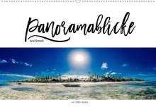 Stefan Becker: Panoramablicke weltweit (Wandkalender 2021 DIN A2 quer), Kalender