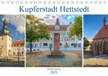 Steffen Gierok: Kupferstadt Hettstedt (Tischkalender 2021 DIN A5 quer), Kalender