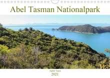 André Tams: Abel Tasman Nationalpark (Wandkalender 2021 DIN A4 quer), Kalender