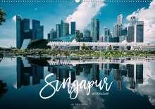 Stefan Becker: Singapur entdecken (Wandkalender 2021 DIN A2 quer), Kalender
