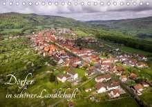 Manfred Hempe: Dörfer in schöner Landschaft (Tischkalender 2021 DIN A5 quer), Kalender
