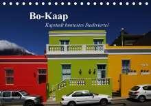 Andreas Werner: Bo-Kaap - Kapstadt buntestes Stadtviertel (Tischkalender 2021 DIN A5 quer), Kalender