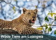 Bruno Pohl: Wilde Tiere am Luangwa (Wandkalender 2021 DIN A3 quer), Kalender