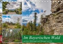 Christian Haidl: Im Bayerischen Wald auf dem Mühlriegel und Ödriegel von Eck (Tischkalender 2021 DIN A5 quer), Kalender