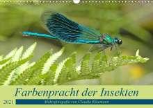 Claudia Kleemann: Farbenpracht der Insekten (Wandkalender 2021 DIN A3 quer), Kalender