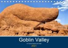 Andreas Klesse: Goblin Valley - Im Tal der Gnome und Trolle (Tischkalender 2021 DIN A5 quer), Kalender
