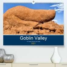 Andreas Klesse: Goblin Valley - Im Tal der Gnome und Trolle (Premium, hochwertiger DIN A2 Wandkalender 2021, Kunstdruck in Hochglanz), Kalender