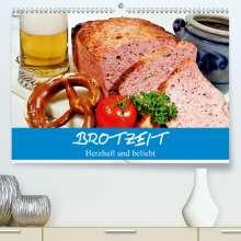 Elisabeth Stanzer: Brotzeit. Herzhaft und beliebt (Premium, hochwertiger DIN A2 Wandkalender 2021, Kunstdruck in Hochglanz), Kalender