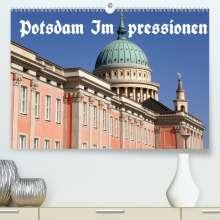Bernhard Wolfgang Schneider: Potsdam Impressionen (Premium, hochwertiger DIN A2 Wandkalender 2021, Kunstdruck in Hochglanz), Kalender