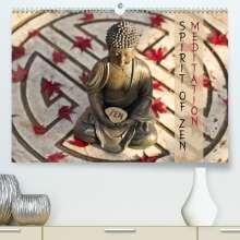 Markus Wuchenauer Pixelrohkost. De: SPIRIT OF ZEN Meditation (Premium, hochwertiger DIN A2 Wandkalender 2021, Kunstdruck in Hochglanz), Kalender