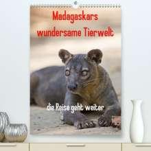 Antje Hopfmann: Madagaskars wundersame Tierwelt - die Reise geht weiter (Premium, hochwertiger DIN A2 Wandkalender 2021, Kunstdruck in Hochglanz), Kalender