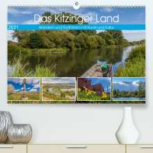 Hans Will: Das Kitzinger Land - Wandern und Radfahren mit Kunst und Kultur (Premium, hochwertiger DIN A2 Wandkalender 2021, Kunstdruck in Hochglanz), Kalender