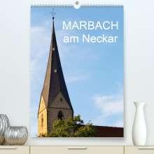 Anette Jäger/Thomas: Marbach am Neckar (Premium, hochwertiger DIN A2 Wandkalender 2021, Kunstdruck in Hochglanz), Kalender