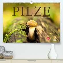 Markus Wuchenauer Pixelrohkost. De: Pilze - fleißige Waldarbeiter (Premium, hochwertiger DIN A2 Wandkalender 2021, Kunstdruck in Hochglanz), Kalender
