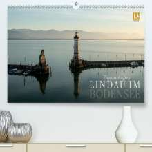 Markus Wuchenauer Pixelrohkost. De: Traumhaftes Lindau im Bodensee (Premium, hochwertiger DIN A2 Wandkalender 2021, Kunstdruck in Hochglanz), Kalender