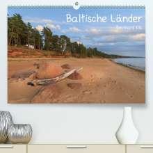Bernhard Kils: Baltische Länder (Premium, hochwertiger DIN A2 Wandkalender 2021, Kunstdruck in Hochglanz), Kalender