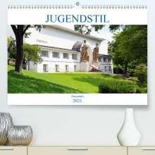 Wolfgang Gerstner: Jugendstil - Darmstadt (Premium, hochwertiger DIN A2 Wandkalender 2021, Kunstdruck in Hochglanz), Kalender