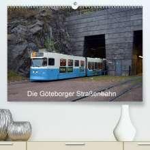 Wolfgang Gerstner: Die Göteborger Straßenbahn (Premium, hochwertiger DIN A2 Wandkalender 2021, Kunstdruck in Hochglanz), Kalender
