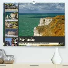 Silke Liedtke Reisefotografie: Normandie - Raue Küste und malerische Hafenstädte (Premium, hochwertiger DIN A2 Wandkalender 2021, Kunstdruck in Hochglanz), Kalender