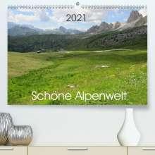 Kevin Andreas Lederle: Schöne Alpenwelt (Premium, hochwertiger DIN A2 Wandkalender 2021, Kunstdruck in Hochglanz), Kalender