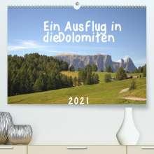 Kevin Andreas Lederle: Ein Ausflug in die Dolomiten (Premium, hochwertiger DIN A2 Wandkalender 2021, Kunstdruck in Hochglanz), Kalender