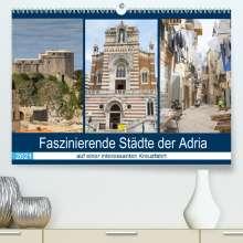Brigitte Dürr: Faszinierende Städte der Adria (Premium, hochwertiger DIN A2 Wandkalender 2021, Kunstdruck in Hochglanz), Kalender