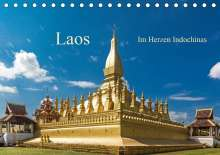 Harry Müller: Laos - Im Herzen Indochinas (Tischkalender 2021 DIN A5 quer), Kalender