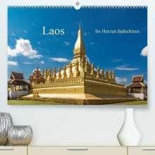 Harry Müller: Laos - Im Herzen Indochinas (Premium, hochwertiger DIN A2 Wandkalender 2021, Kunstdruck in Hochglanz), Kalender