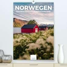 Benjamin Lederer: Norwegen - Eine Reise durch das skandinavische Land. (Premium, hochwertiger DIN A2 Wandkalender 2021, Kunstdruck in Hochglanz), Kalender