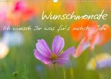 Sabine Böke-Bergau: Wunschmonate (Wandkalender 2021 DIN A3 quer), Kalender