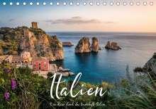 Benjamin Lederer: Italien - Eine Reise durch das traumhafte Italien. (Tischkalender 2021 DIN A5 quer), Kalender