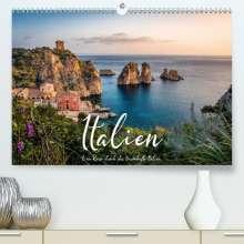 Benjamin Lederer: Italien - Eine Reise durch das traumhafte Italien. (Premium, hochwertiger DIN A2 Wandkalender 2021, Kunstdruck in Hochglanz), Kalender