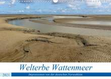 Andreas Klesse: Welterbe Wattenmeer (Wandkalender 2021 DIN A3 quer), Kalender