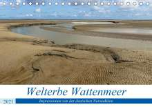 Andreas Klesse: Welterbe Wattenmeer (Tischkalender 2021 DIN A5 quer), Kalender