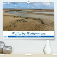 Andreas Klesse: Welterbe Wattenmeer (Premium, hochwertiger DIN A2 Wandkalender 2021, Kunstdruck in Hochglanz), Kalender
