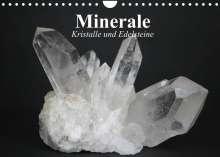 Elisabeth Stanzer: Minerale. Kristalle und Edelsteine (Wandkalender 2022 DIN A4 quer), Kalender