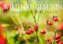 Markus Wuchenauer Pixelrohkost. De: WILD UND GESUND Essbare Wildpflanzen (Tischkalender 2022 DIN A5 quer), Kalender