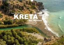 Peter Schickert: Kreta - der Westen (Wandkalender 2022 DIN A3 quer), Kalender